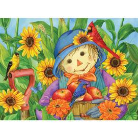 October Scarecrow 1000 Piece Jigsaw Puzzle