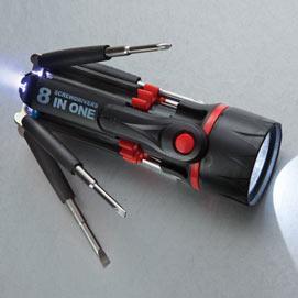 Multibit 8 in 1 Screwdriver Gadget