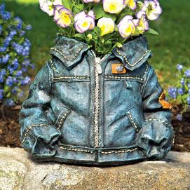 Denim Jacket Planter