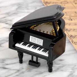 Grand Piano Music Box - Memories