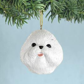 Bichon Christmas Ornaments