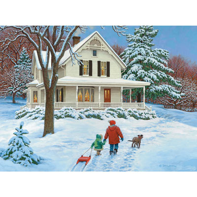 Home From The Hill 300 Large Piece Jigsaw Puzzle