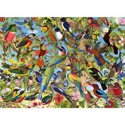 Fantastic Birds 1500 Piece Jigsaw Puzzle