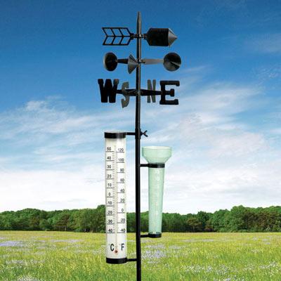 Durable Metal Garden Weather Station