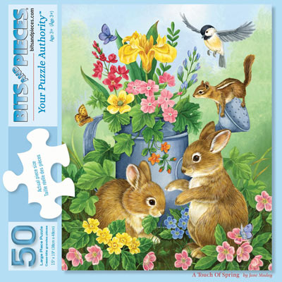 A Touch Of Spring 50 Large Piece Jigsaw Puzzle
