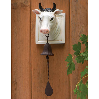 Hanging Cowbell Wall Scupture