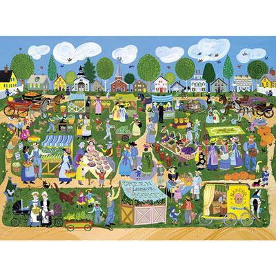 Green Farmer's Market 500 Piece Jigsaw Puzzle