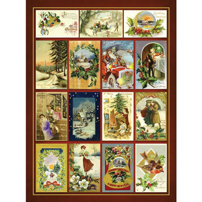Christmas Greetings Quilt 1000 Piece Jigsaw Puzzle