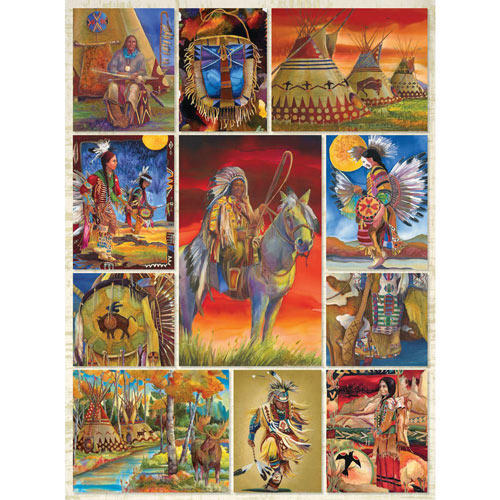 Native American Quilt 1000 Piece Jigsaw Puzzle