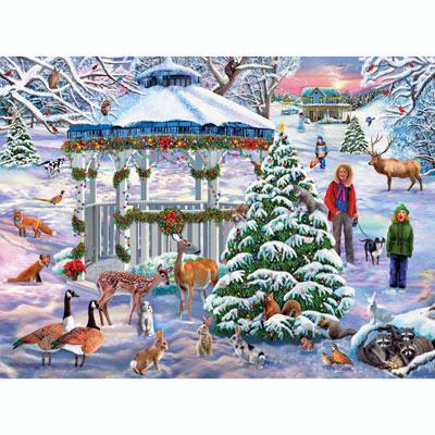Holiday Gathering 300 Large Piece Jigsaw Puzzle