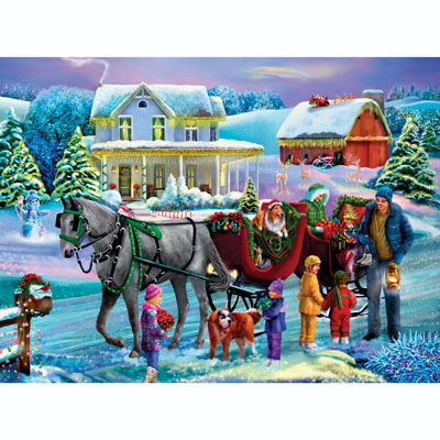 Holiday Cheer 300 Large Piece Jigsaw Puzzle