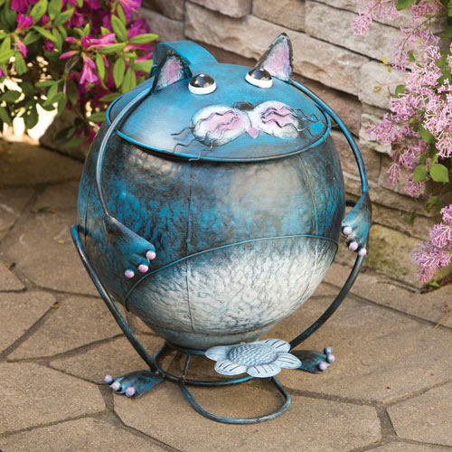 Cat Trash Can
