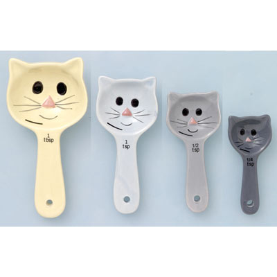 Cat Measuring Spoons - Set of 4