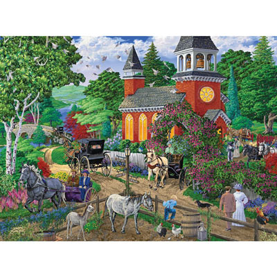 After Service 1000 Piece Jigsaw Puzzle