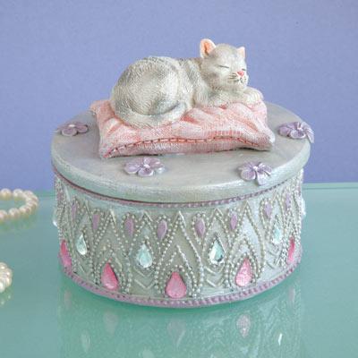 Kitten Keepsake Box