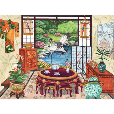 Japanese Tea Room 500 Piece Jigsaw Puzzle