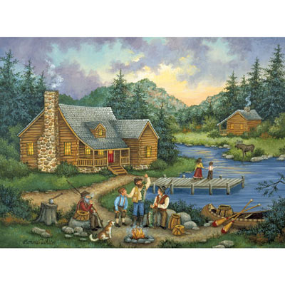 Fish Tales 300 Large Piece Jigsaw Puzzle
