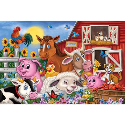 Farm Friends Floor Puzzle