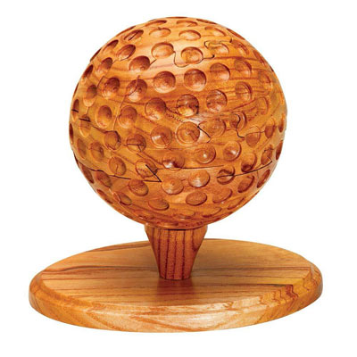 Dimensions In Wood™ - The Sports Collection - Golf Ball