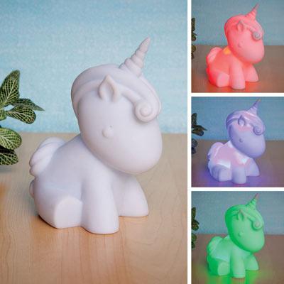 Colour Changing Unicorn Nightlight
