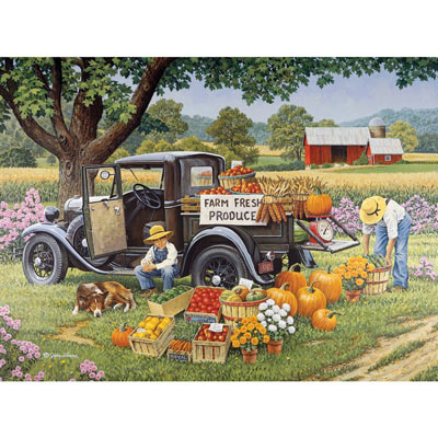 Home Grown 2000 Piece Jigsaw Puzzle