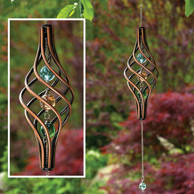 Kinetic Copper Wind Spinner