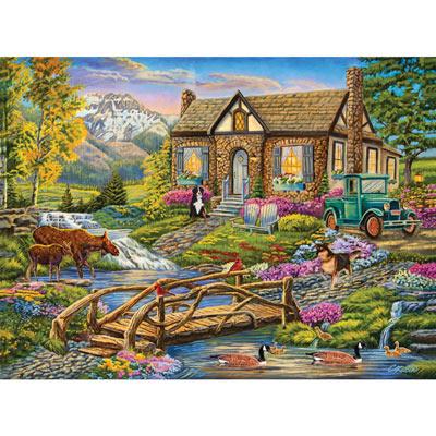 Serene Retreat 500 Piece Jigsaw Puzzle