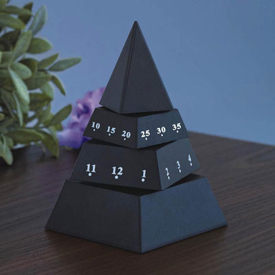 Time Pyramid Clock