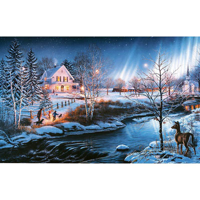 All Is Bright 500 Piece Jigsaw Puzzle
