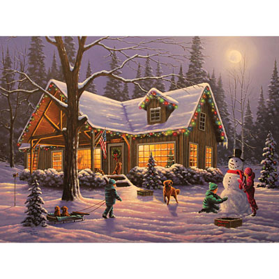 Family Traditions 500 Piece Jigsaw Puzzle