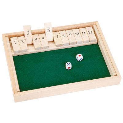 The Classic Game of Shut The Box