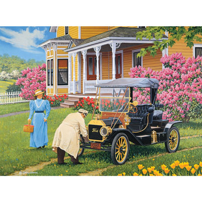 Out For A Drive 1000 Piece Jigsaw Puzzle