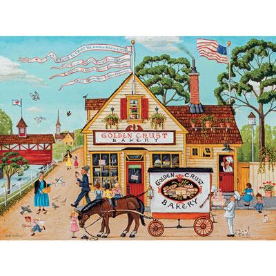 Golden Crust Bakery 500 Piece Jigsaw Puzzle