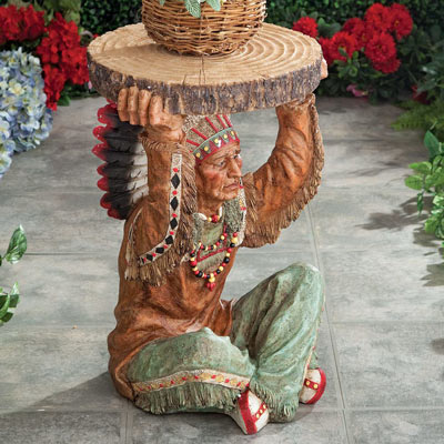 American Chief Accent Table