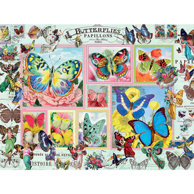 Butterfly Dance 1000 Piece Jigsaw Puzzle