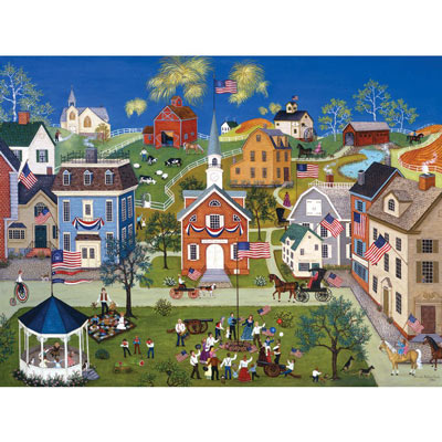 Let Freedom Ring II 300 Large Piece Jigsaw Puzzle