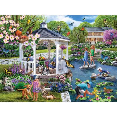 Gazebo Gardens 300 Large Piece Jigsaw Puzzle