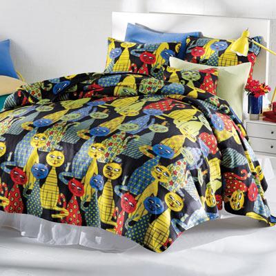 Krazy Kats Fleece Blanket