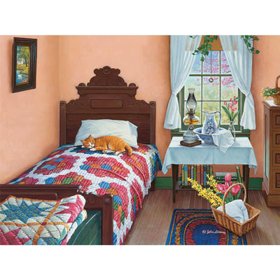 Dreams Of Spring 300 Large Piece Jigsaw Puzzle