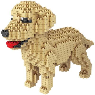 Dog Breed 3-D BlockPuzzle- Golden Retriever