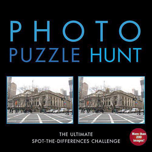 Photo Puzzle Hunt Book