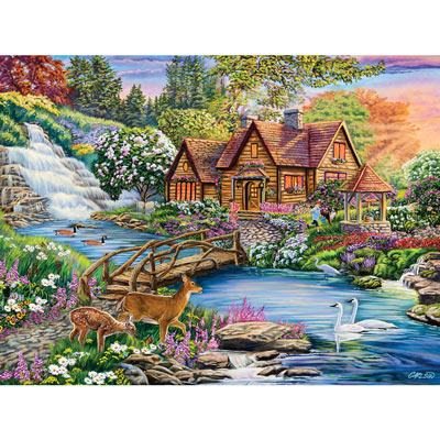 Enchanted Forest 300 Large Piece Jigsaw Puzzle