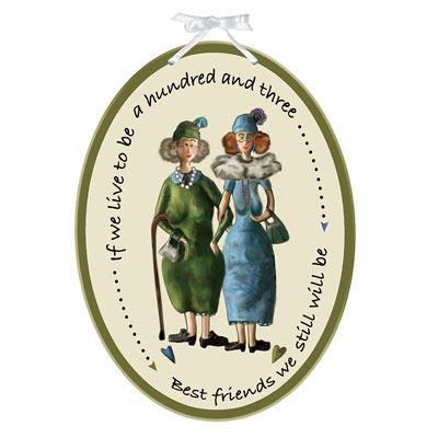 Best Friends Plaque