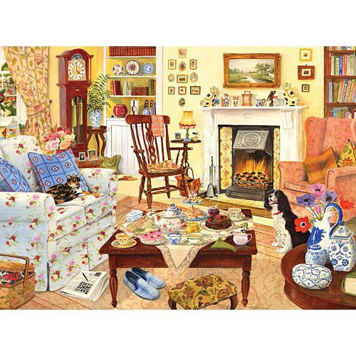 Afternoon Tea 300 Large Piece Jigsaw Puzzle