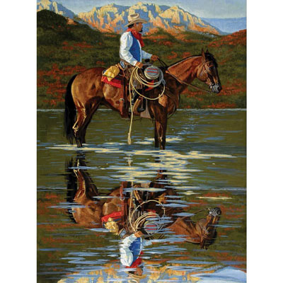 Reflection 1500 Piece Large Format Jigsaw Puzzle