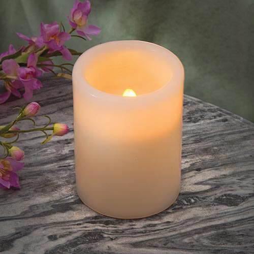 Forever Flame Solar Candle