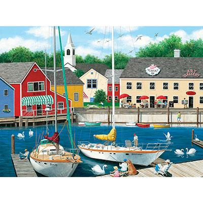 Puppy Garden 300 Large Piece Jigsaw Puzzle