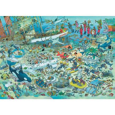 JVH Deep Sea Fun 2000 Piece Jigsaw Puzzle