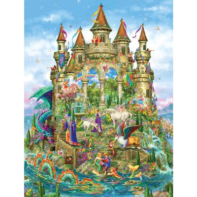 Fantasy Castle 750 Piece Shaped Jigsaw Puzzle