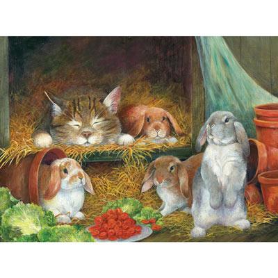 Bunnies 1000 Piece Jigsaw Puzzle